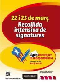 Signa un vot, 22 i 23 de març