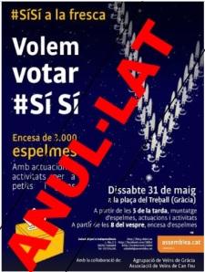 31.05.2014 a Gràcia, anul·lat