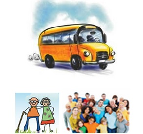 desplaçament amb autocar