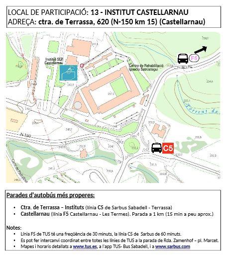 13. Institut Castellarnau