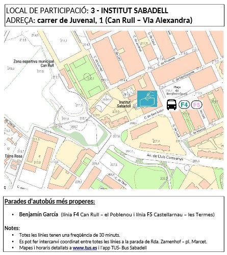 3. Institut Sabadell