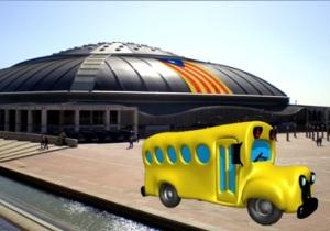 autocar al Palau Sant Jordi