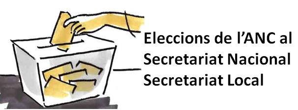 ELECCIONS AL SECRETARIAT NACIONAL I LOCCAL de SBDxI-ANC, 2015