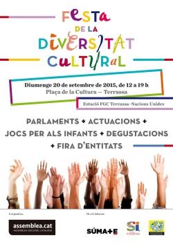 Cartell ANC Festa de la Diversitat Cultural Setembre 2015 (3)