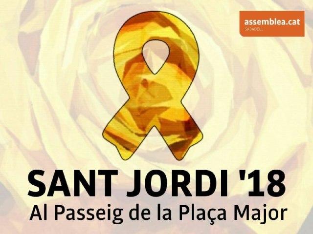 Sabadell, 23 d'abril, Sant Jordi, cavalcant cap a la República!